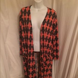 LuLaRoe Duster with Pockets